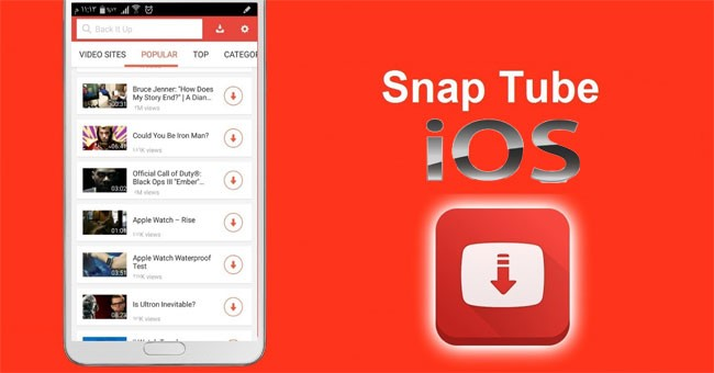 Descargar SnapTube para iPhone (iOS)